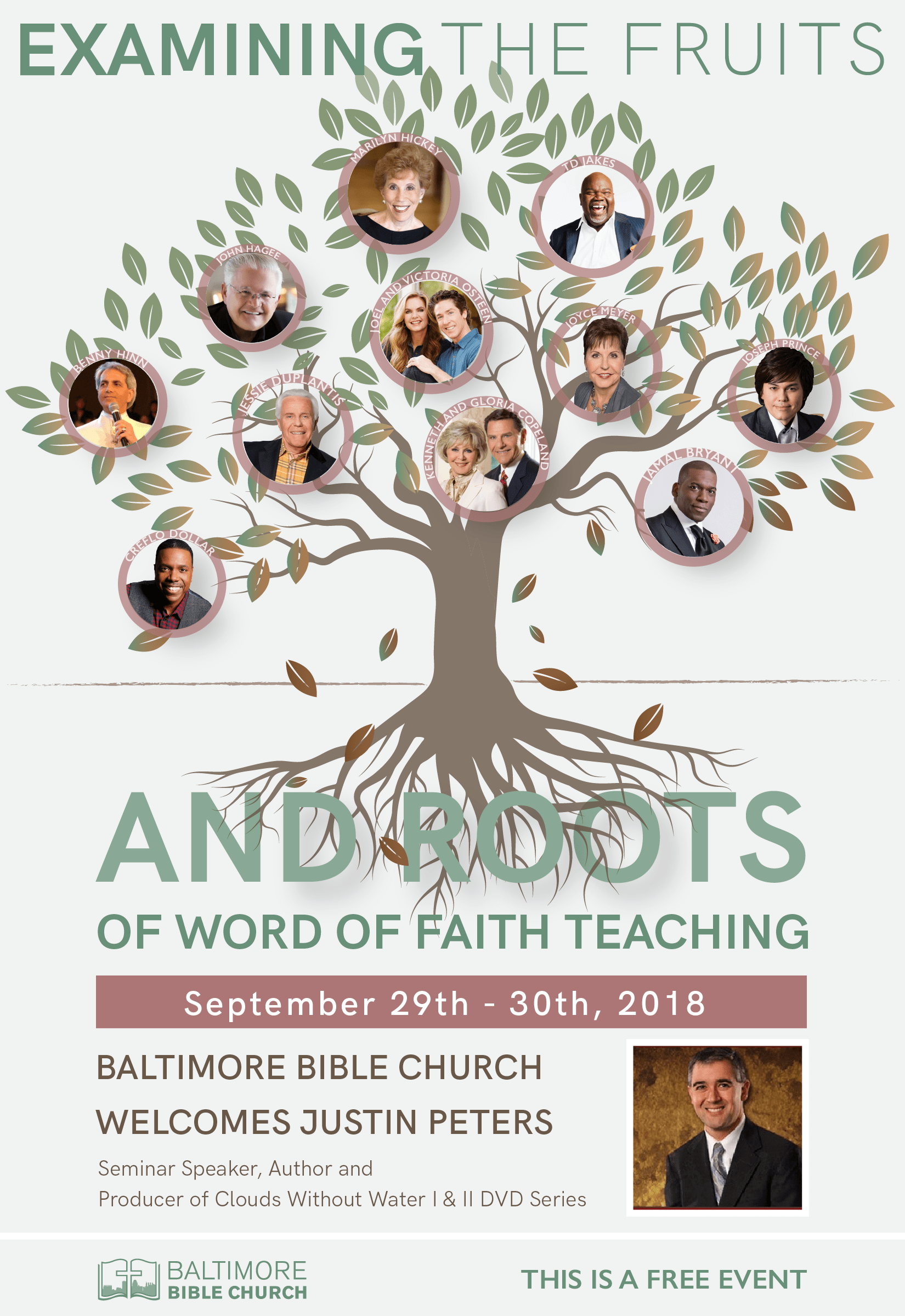 Examining the Fruits and Roots of Word of Faith Teaching