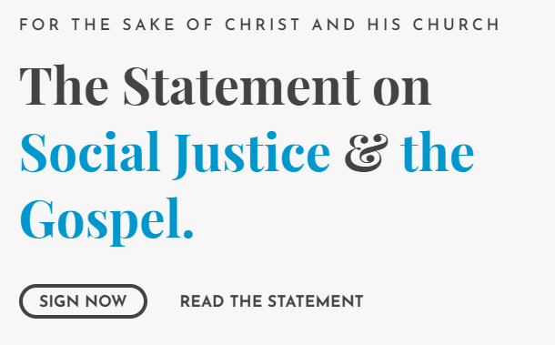 The Statement on Social Justice & the Gospel
